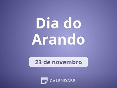 Dia do Arando