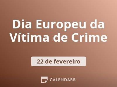 Dia Europeu da Vítima de Crime
