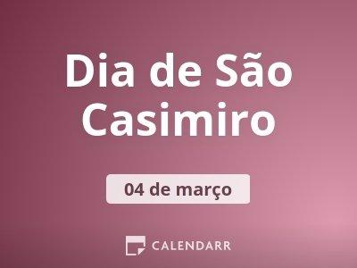 Dia de São Casimiro