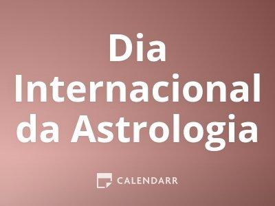 Dia Internacional da Astrologia