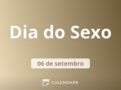 Dia do Sexo