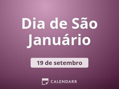 Dia de São Januário